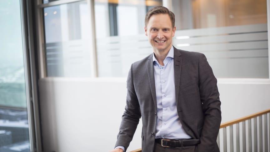 NYSLÅTT TOPPLEDER: Leon Engesæth har jobbet i Sopra Steria Business Consulting i 18 år. Nå skal han lede avdelingen.