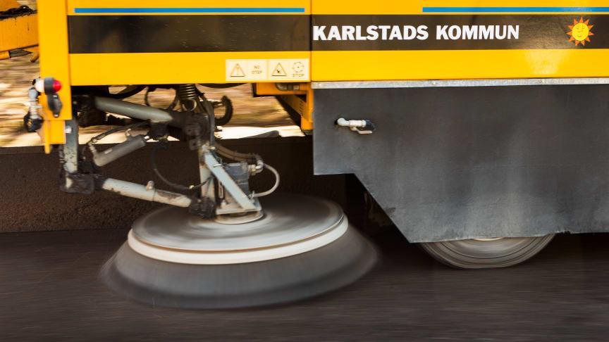 Vårsopningen i Karlstads kommun startar under nästa vecka.