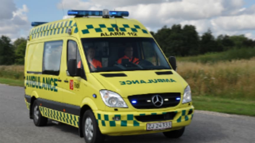Falck to operate ambulance services throughout Region Zealand