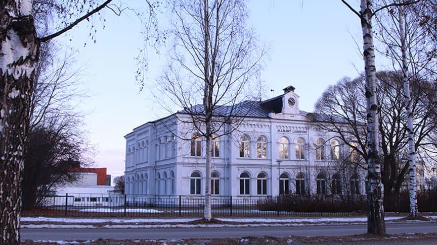 Gamla läroverket från 1894 - en del av dagens och morgondagens Christinaskola. Foto: Ann-Sofie Boman
