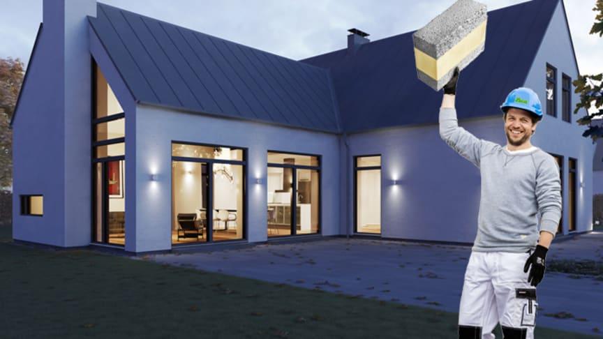 Lättare murning med nya Leca® Isoblock Light