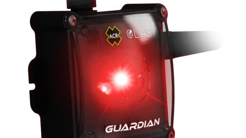 The ACR OLAS Guardian wireless engine kill switch and man overboard alarm system