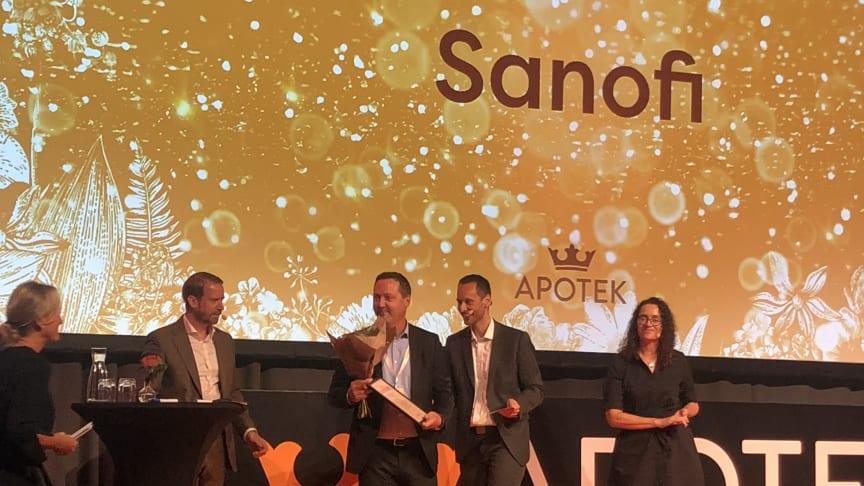 Kronans Apotek utser Sanofi till årets leverantör 2019