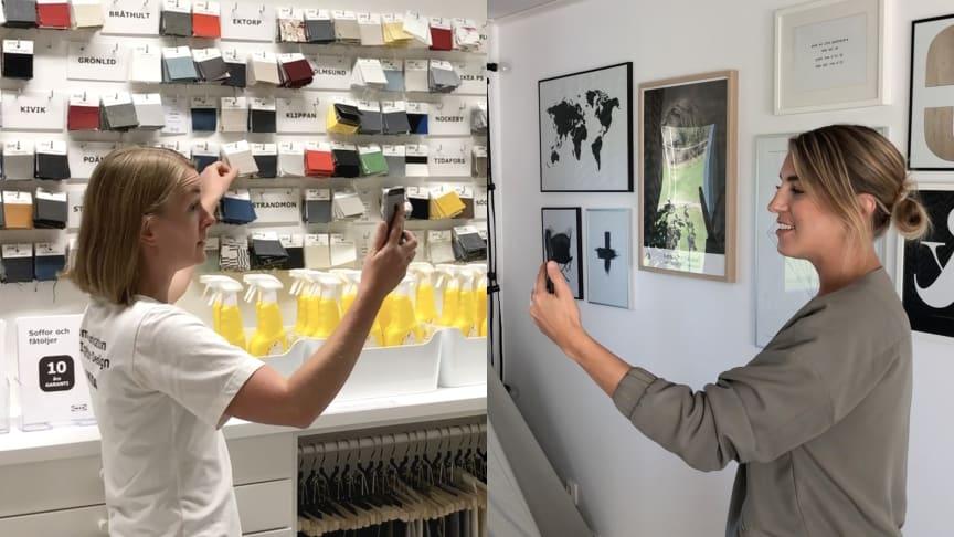 IKEA Samsyn erbjuder personlig hjälp via videolänk.