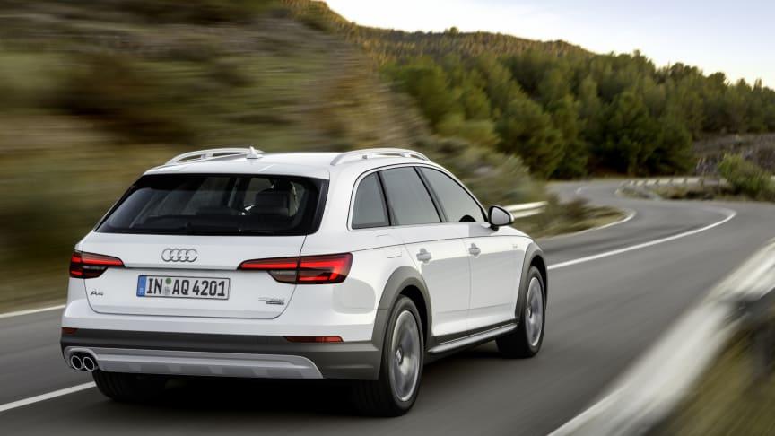 Ny Audi A4 allroad quattro - den perfekte ledsager i alle situationer