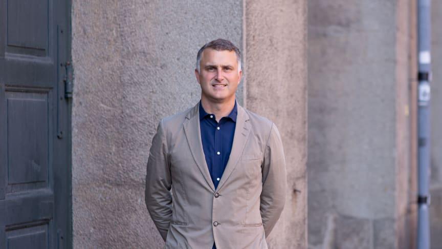 Kalle Berggren tillträder som ny kontorschef på Carlstedt Arkitekter i Eskilstuna 1 oktober