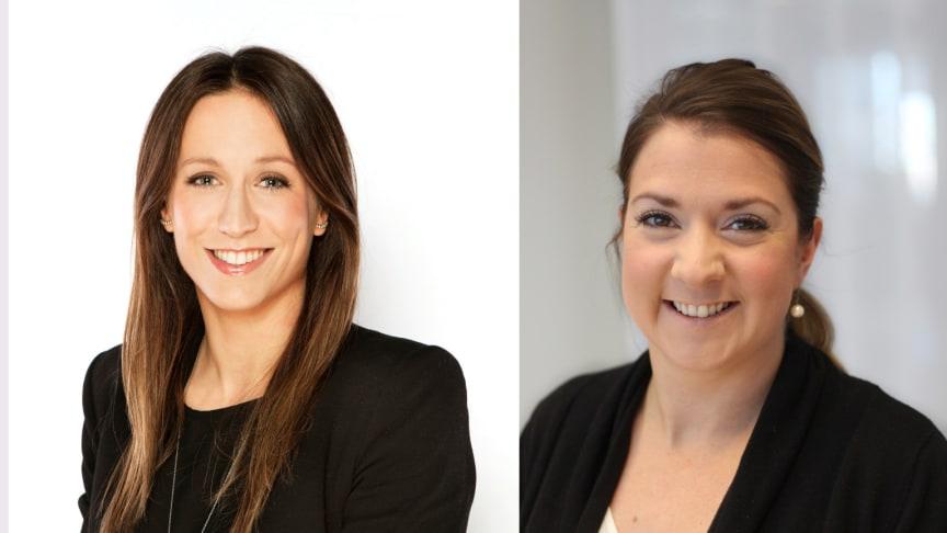 Bettina Flatland och Ann Ekengren.