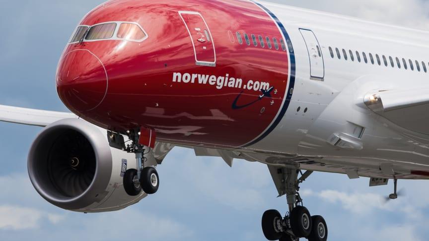 Norwegian lanserer langruter fra London til New York, Los Angeles og Fort Lauderdale