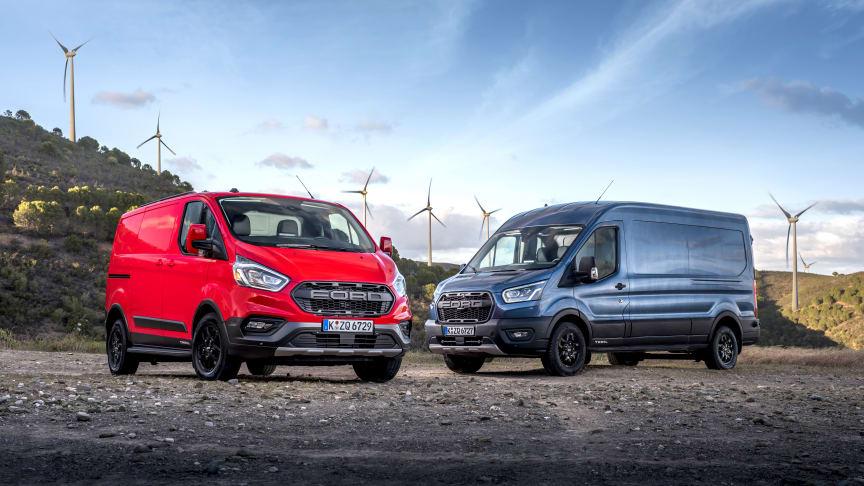 Ford lanserer flere nye tøffe og ekstra robuste Transit-modeller