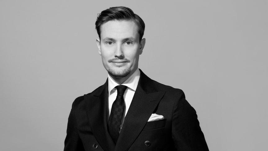 Årets mäklare Johan Dahlgren