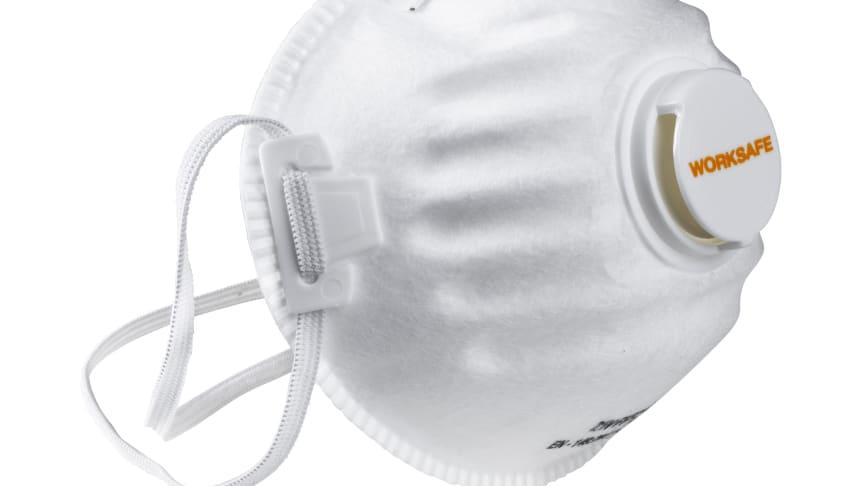 Worksafe filtrerande halvmask FFP2