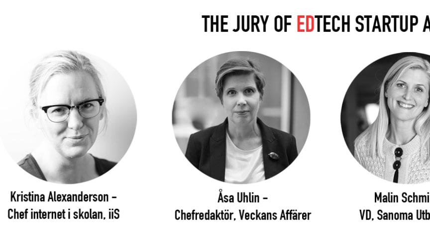 Unik jury på första EdTech Startup Awards