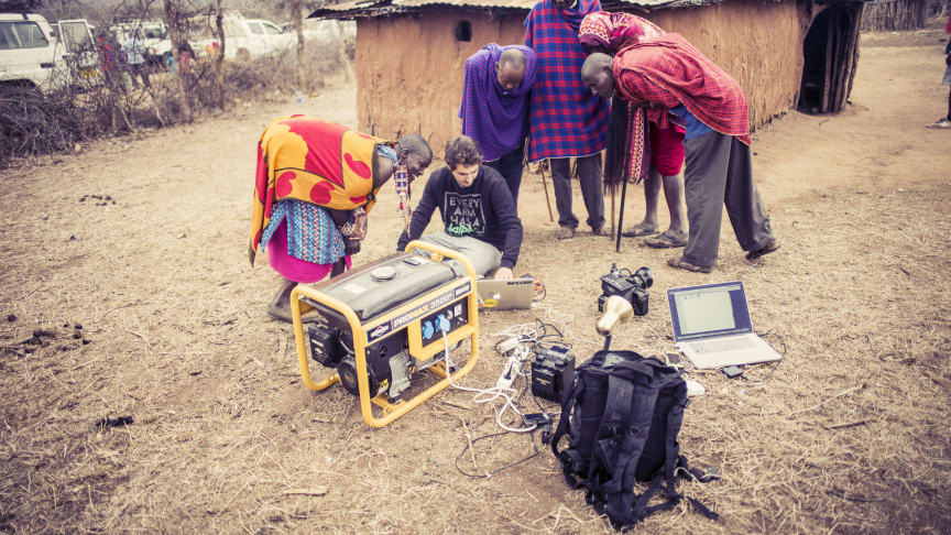 Kenya DANIEL OBRADOVIC field office by Paul Ripke