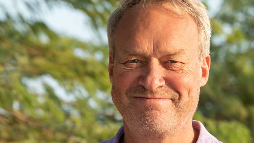 Nils Axing blir General Manager för Forest Food Hall på Expo 2020 i Dubai. Foto: Lotta Axing.