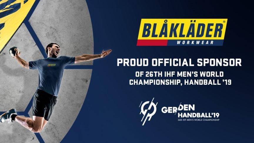 """Blåkläder ist """"Official Sponsor"""" der Handball WM"""