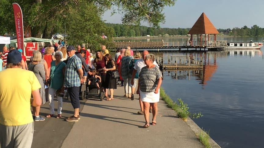 LindeDagen - en folkfest som lockar många till sjöstaden Lindesberg.