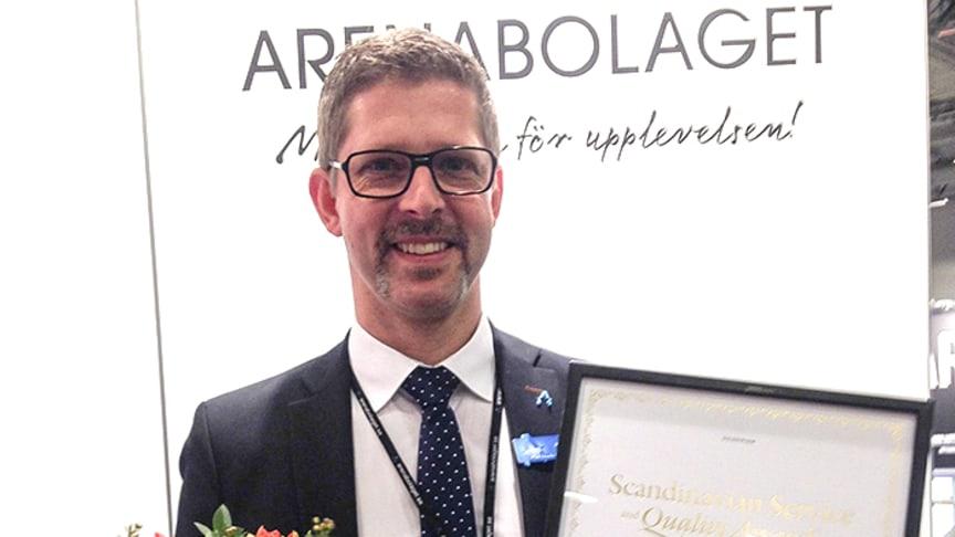 Arenabolaget får för andra gången utmärkelse för bästa dagkonferensanläggning