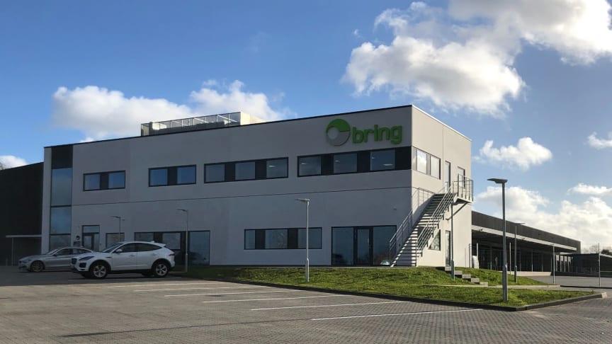 Brings nye logistikcenter i Kongens Kvarter, i Taulov