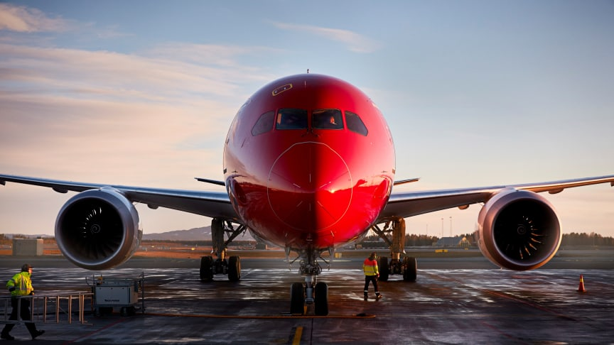 Norwegian, 787 Dreamliner