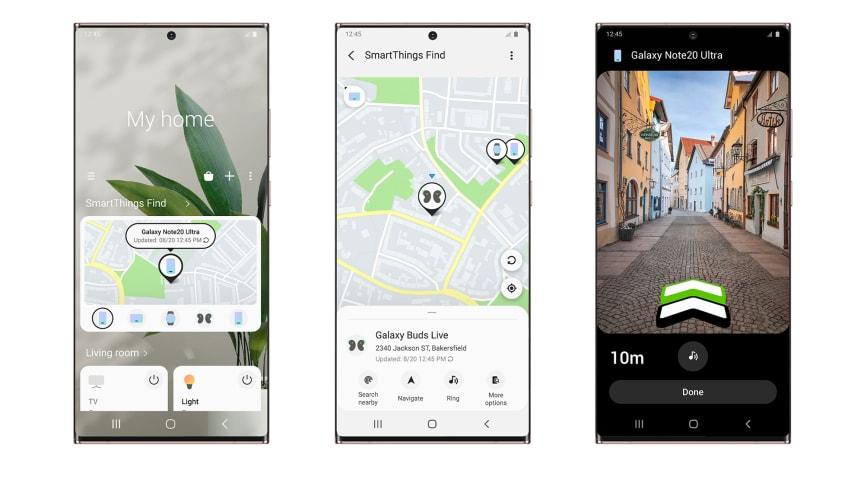Samsung lancerer SmartThings Find, en ny hurtig og nem måde at lokalisere dine Galaxy-enheder