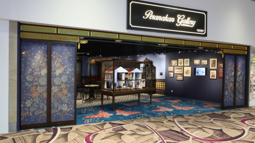 New Peranakan Gallery at Changi Airport's Terminal 4 offers intimate glimpses of the Peranakan Culture