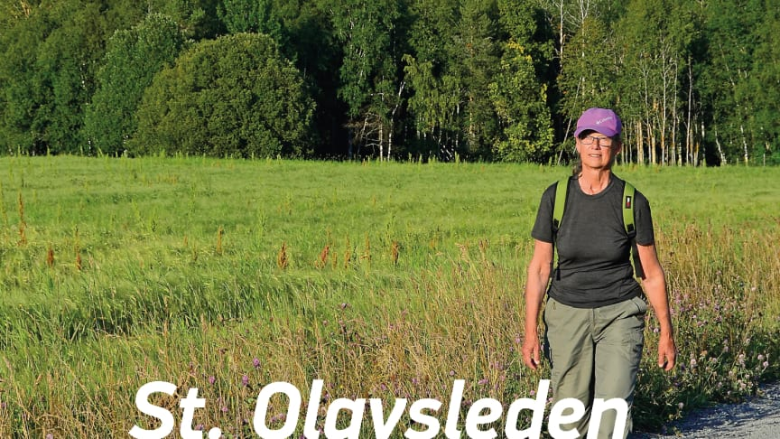 English guide book about St. Olavsleden – a pilgrim path from Sweden to Norway