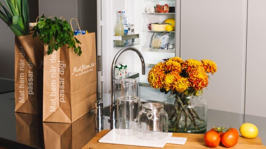 Fri mat rakt in i kylskåpet under ett år