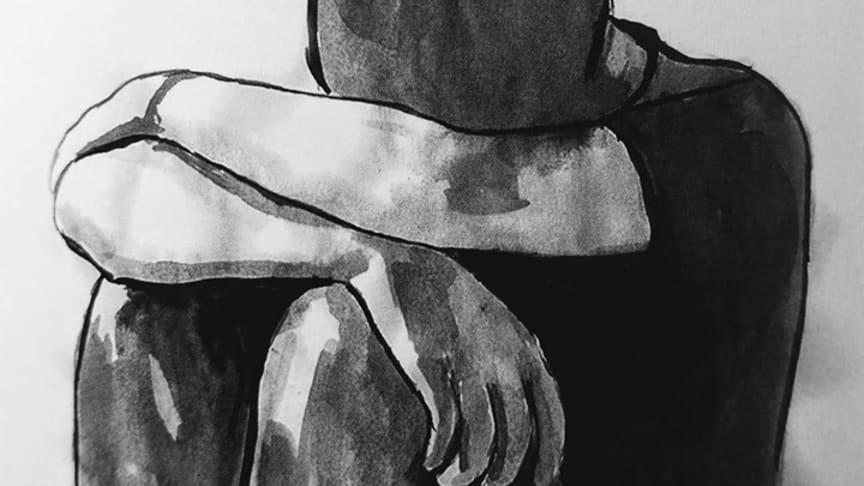 Teckning av Vahedeh Aida Ghardagian.