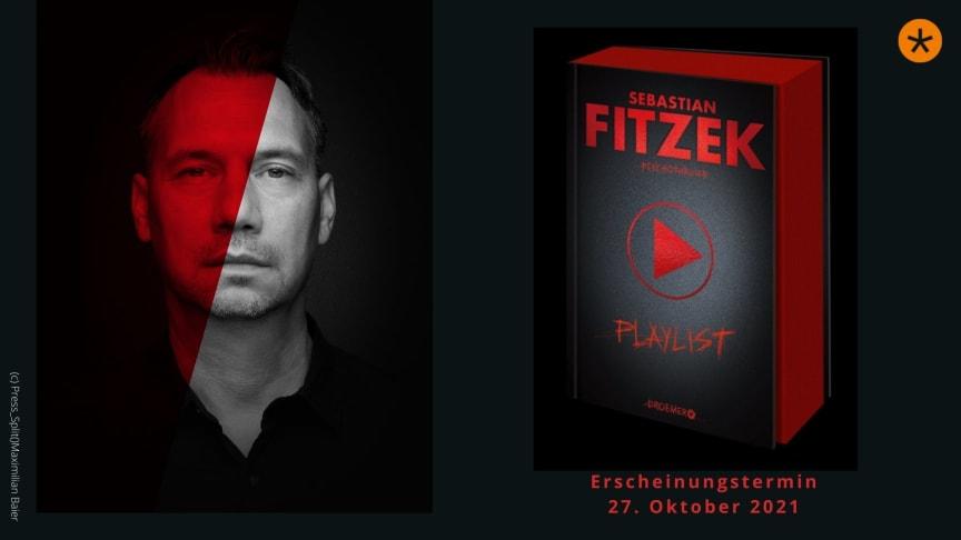 """Bestsellerautor Sebastian Fitzek und Top-Künstler*innen veröffentlichen """"Playlist"""" -  eine einzigartige Verbindung aus Musik und Text"""