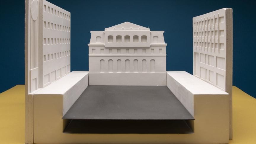 Modell från Fabel Arkitektur. Foto: Carl Ander