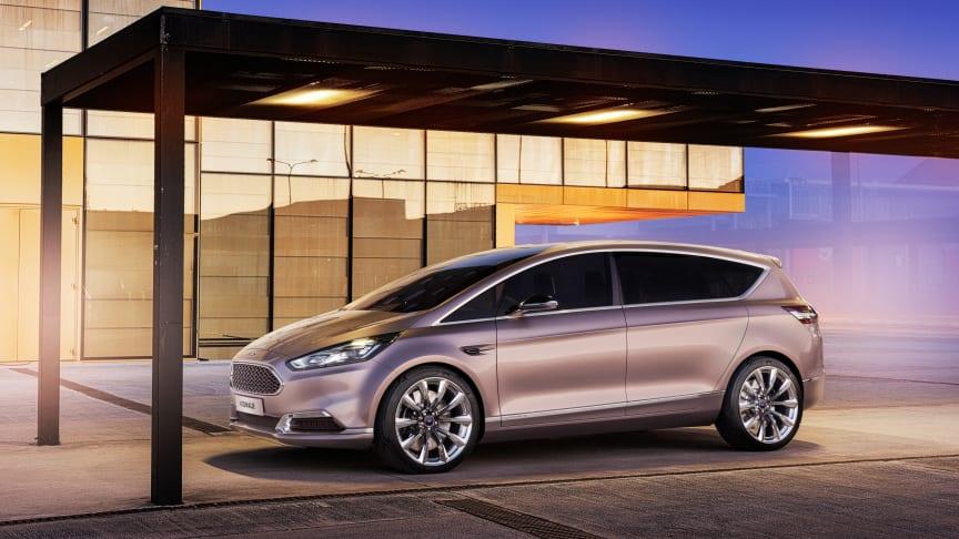 Ford S-MAX i luksusudgave