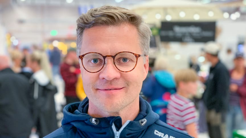 Jonas Dahlberg, vd Nolia AB.
