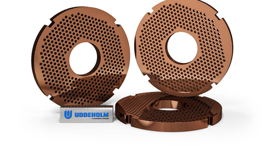 Hole-plates manufactured using Uddeholm Vanax SuperClean