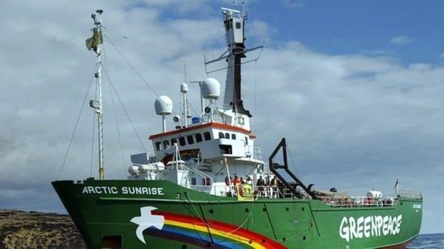 Ryssland: Ogrundade anklagelser mot Greenpeace-aktivister