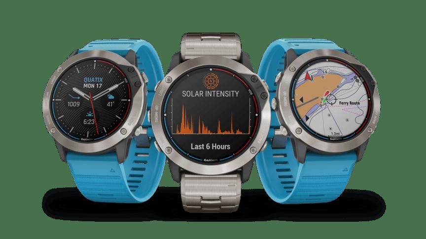Ny marin smartwatch med laddning via solenergi för längre batteritid