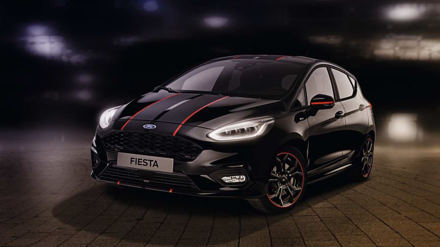 Fiesta ST-Line Rad&Black edition