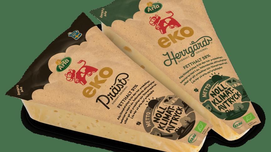 Papper ersätter plast i Arlas nya ostförpackning