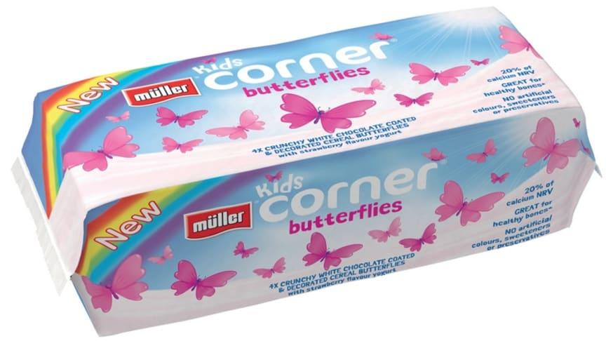 Müller Kids Corner Butterflies Strawberry Precautionary Recall
