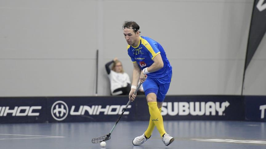 Robin Nilsberth blev tvåmålsskytt. Foto: Esa Jokinen