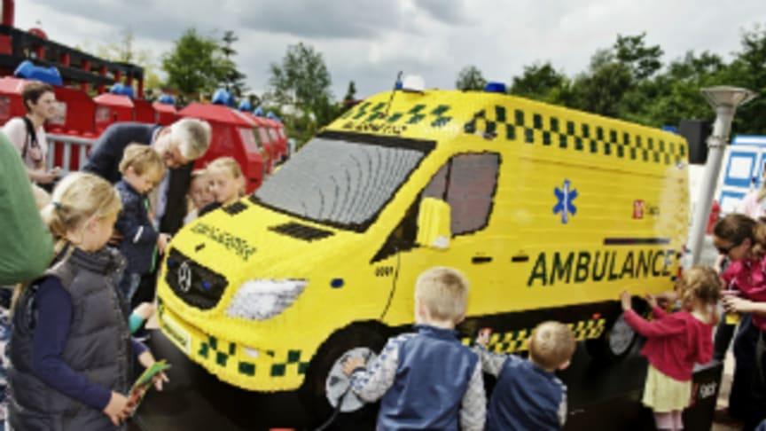 Falck now has a LEGO® ambulance