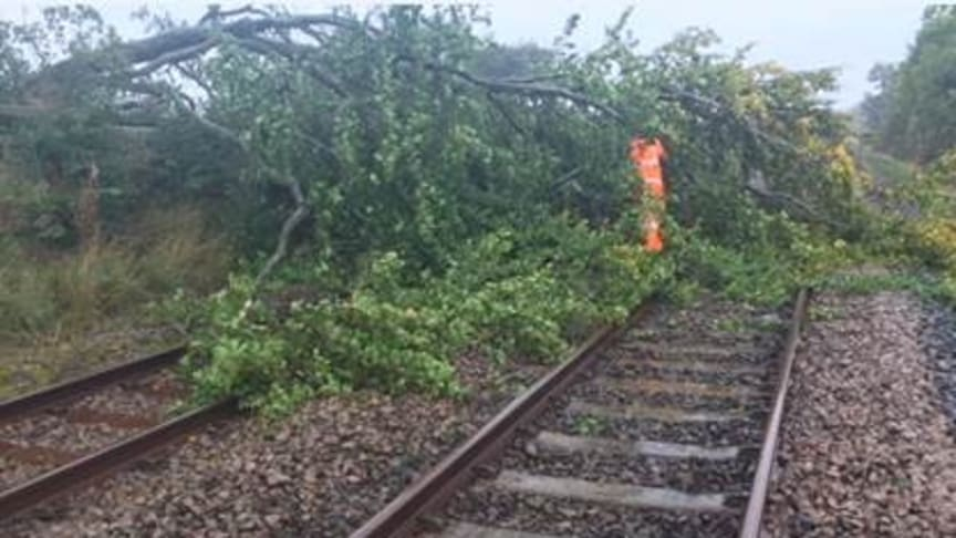 Thameslink and Great Northern advises passengers not to travel during Storm Ciara this Sunday