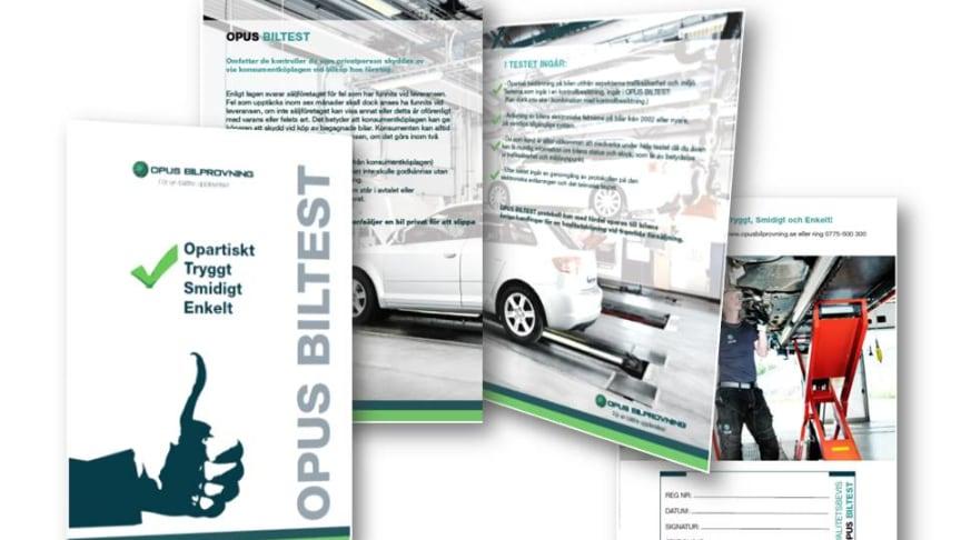 Opus Fordonstest hjälper dig att få koll på fordonets nuvarande skick
