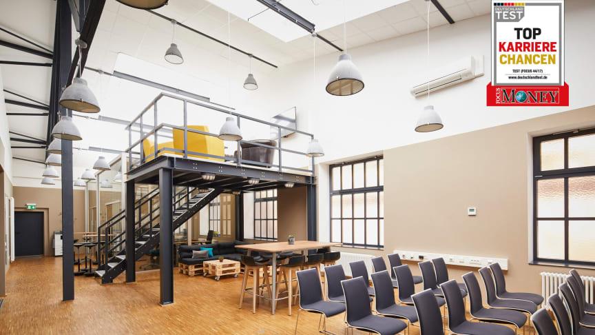 Kreative Räume für kreative Köpfe – in einer Ideenwerkstatt auf dem Firmengelände haben BPW Mitarbeiter Freiraum zum Querdenken.