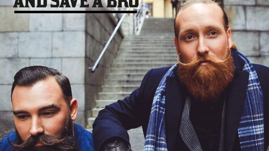Style Your Mo - and Save A Bro! Movemberkampanjen 2016