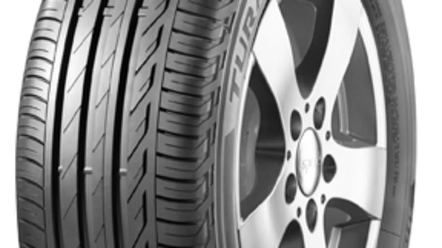 Toppbetyg för Bridgestones nya touringdäck Turanza T001
