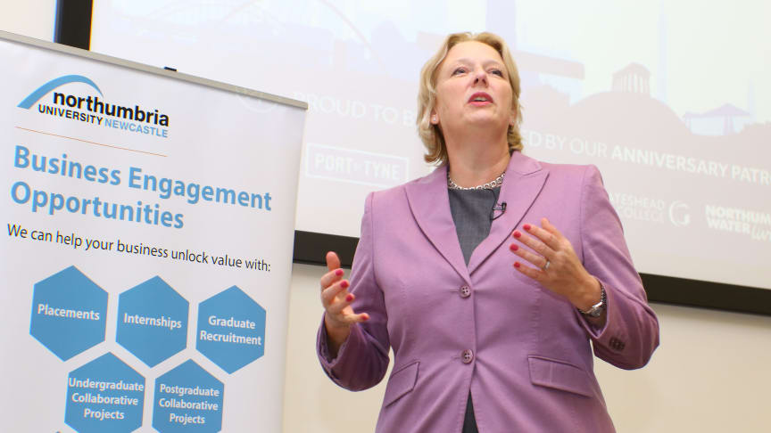 Virgin Money Chief Executive delivers inspirational lecture at Northumbria University
