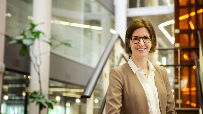 Sweden Green Building councils marknadschef Evelina Strandfeldt