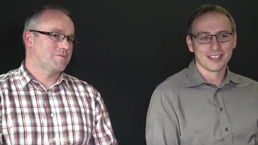 Markus Martin und Volker Beck - Inhaber des FPZ Rückenzentrums Meßstetten