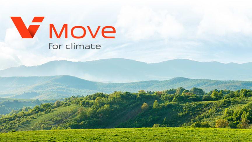 ViMove for Climate överträffar alla förväntningar: 64 419 träd ska planteras för positiv klimatpåverkan