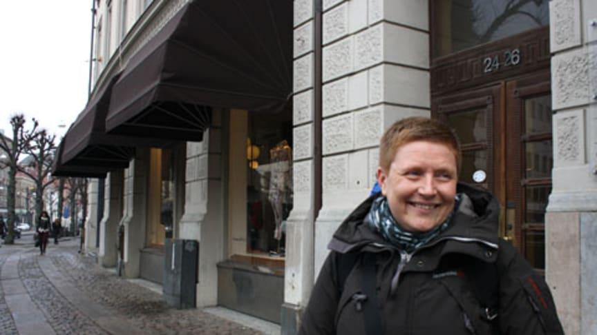 Hon inreder nya Stadsbiblioteket Göteborg